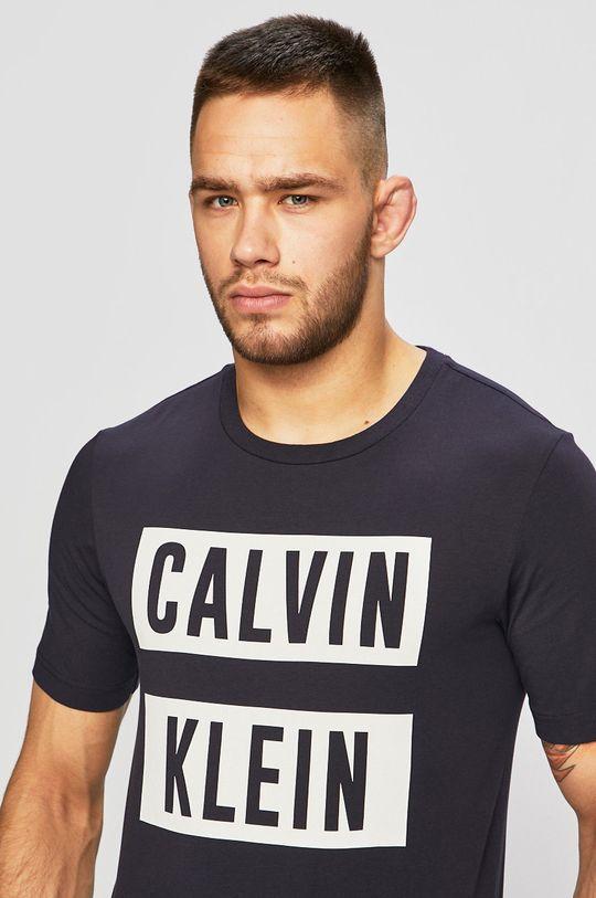námořnická modř Calvin Klein Performance - Tričko 00GMT9K222