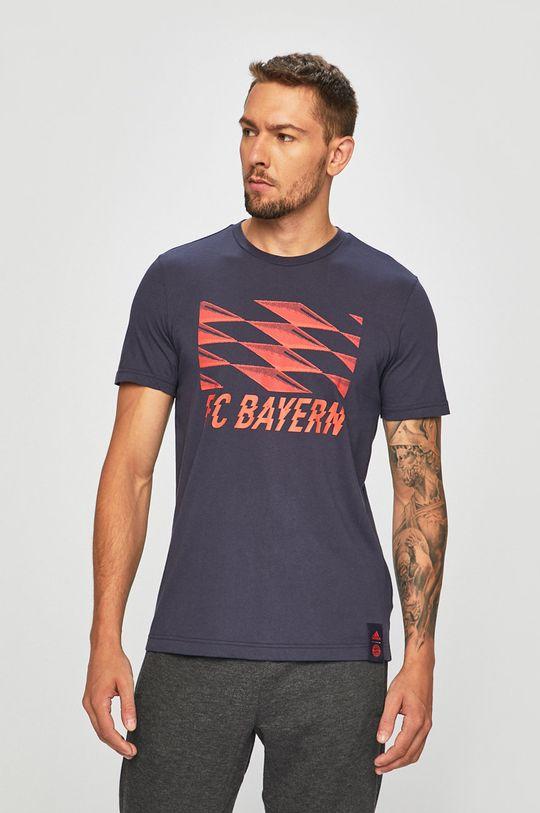 sötétkék adidas Performance - T-shirt Férfi