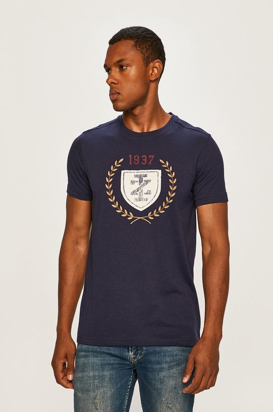 grafitová Izod - Pánske tričko Pánsky