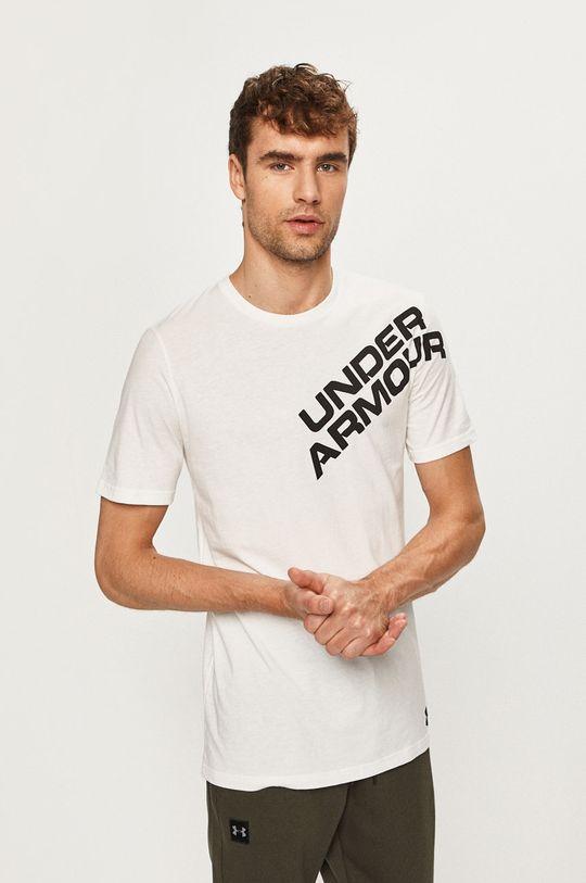 biela Under Armour - Pánske tričko Pánsky