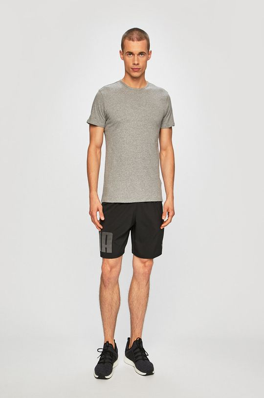 Puma - Pánske tričko (2-pak) sivá
