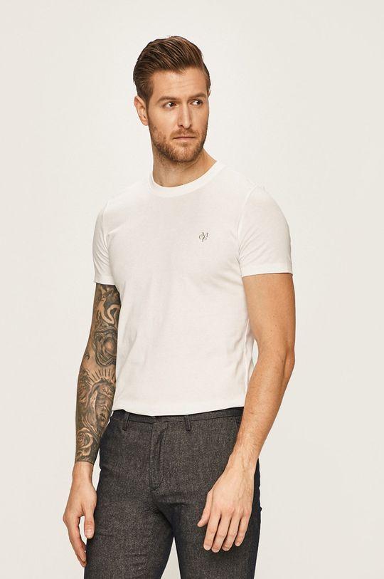 biela Marc O'Polo - Pánske tričko Pánsky