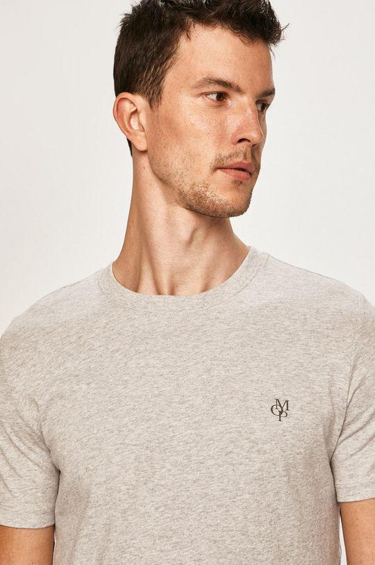 svetlosivá Marc O'Polo - Pánske tričko Pánsky