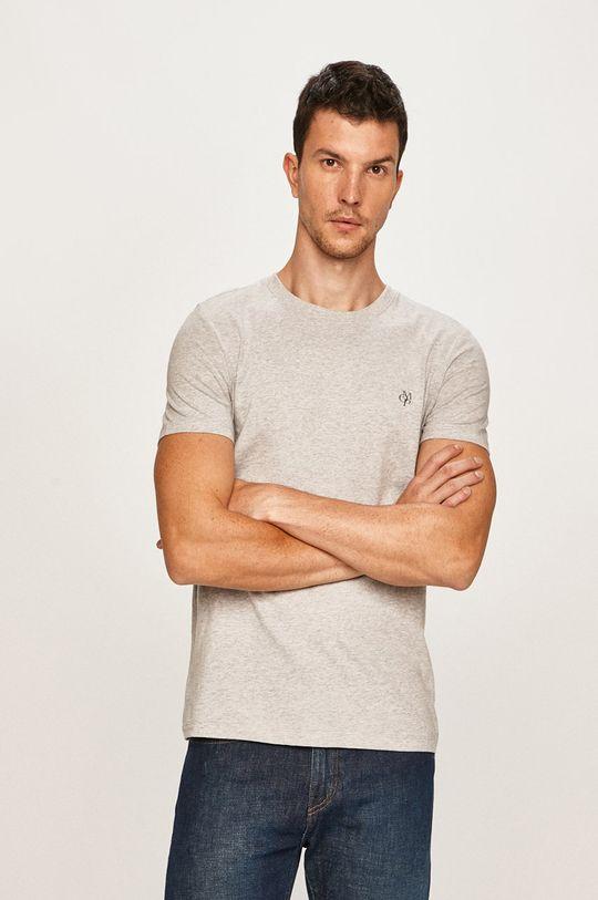svetlosivá Marc O'Polo - Pánske tričko