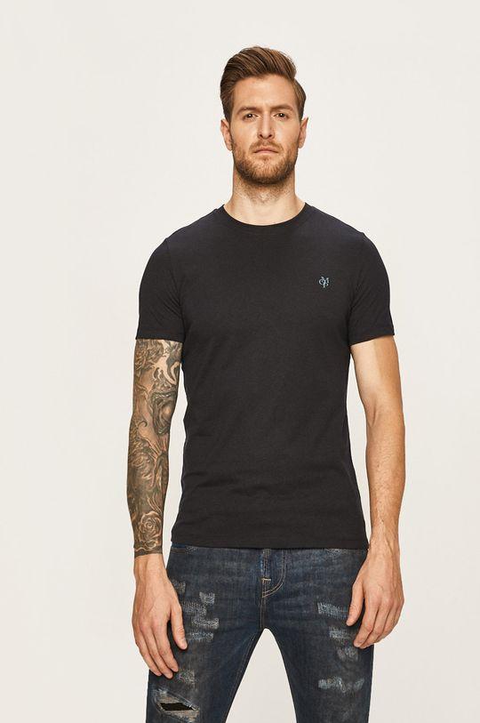 granatowy Marc O'Polo - T-shirt Męski
