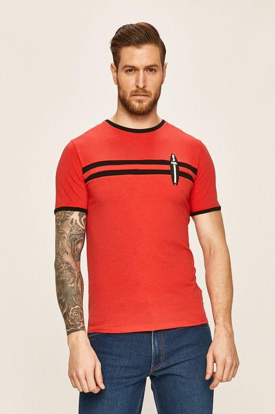 червен Karl Lagerfeld - Тениска Чоловічий
