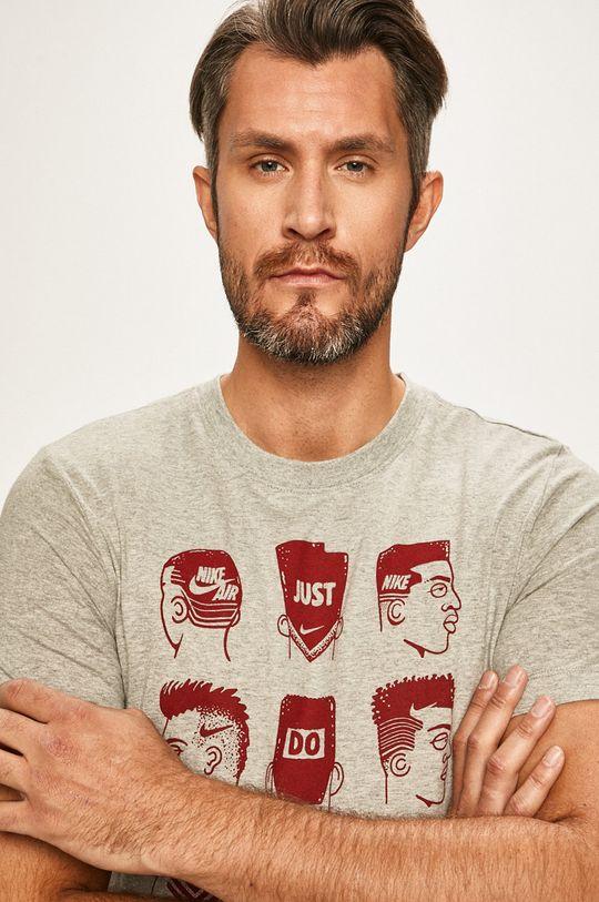 šedá Nike Sportswear - Tričko