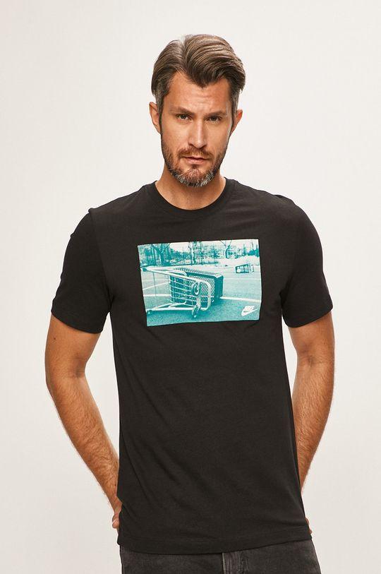 černá Nike Sportswear - Tričko Pánský