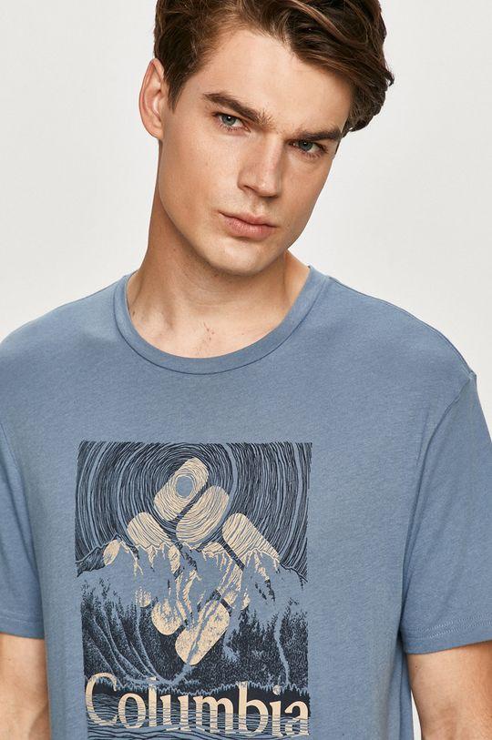 stalowy niebieski Columbia - T-shirt