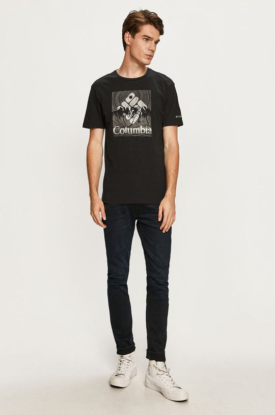 Columbia - T-shirt czarny