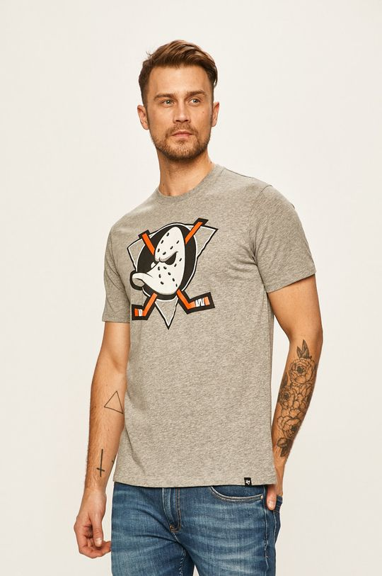 47brand - Pánske tričko sivá
