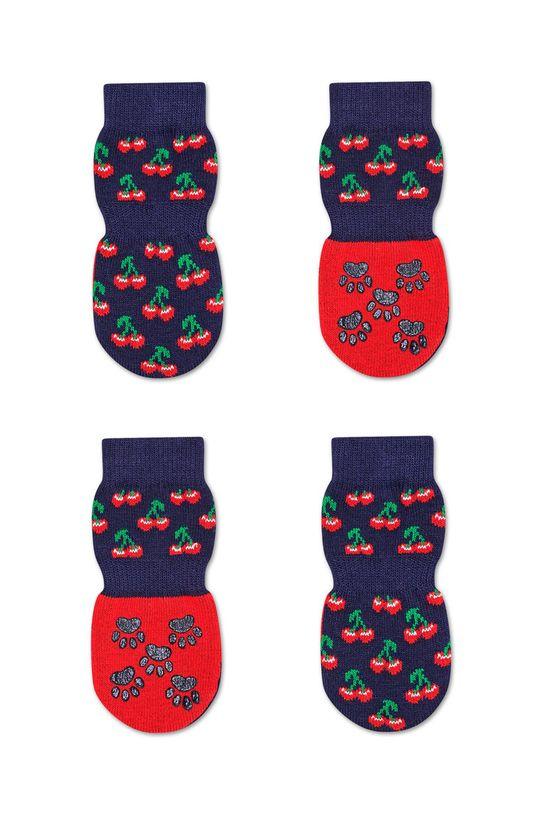 námořnická modř Happy Socks - Ponožky pro psa Unisex