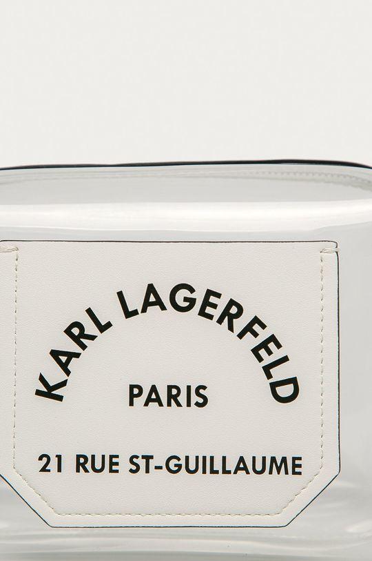 Karl Lagerfeld - Kozmetická taška priesvitná