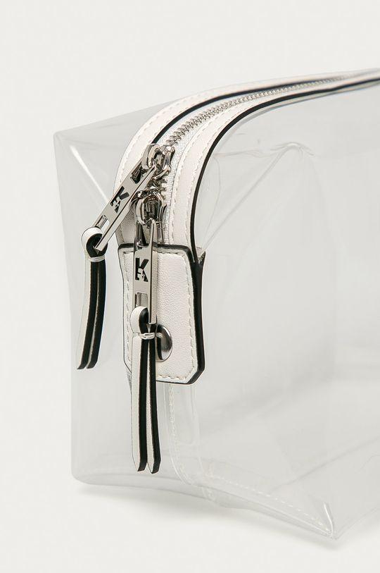 priesvitná Karl Lagerfeld - Kozmetická taška