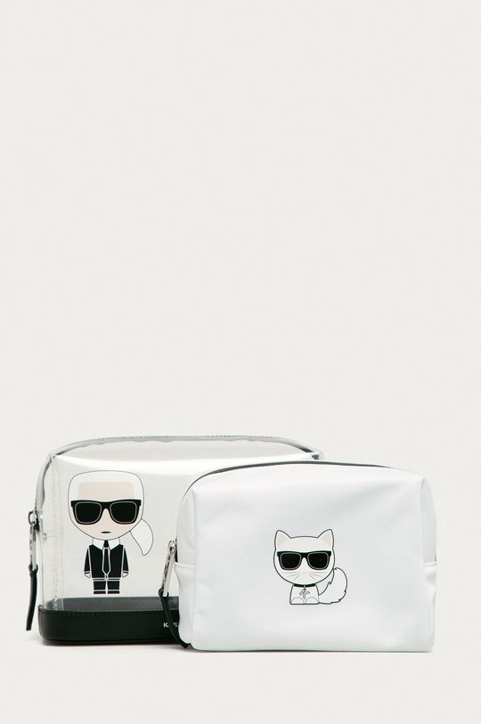 transparentny Karl Lagerfeld - Kosmetyczka Damski