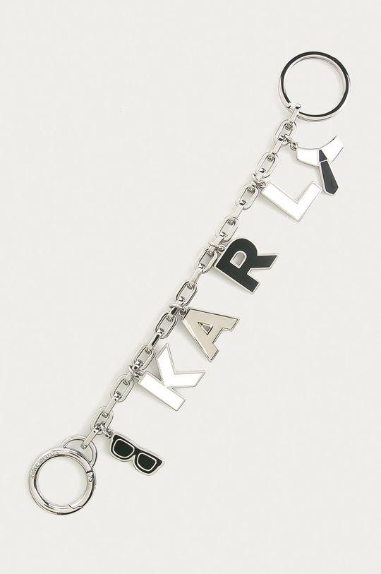 strieborná Karl Lagerfeld - Kľúčenka Dámsky