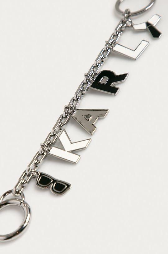 Karl Lagerfeld - Breloc argintiu