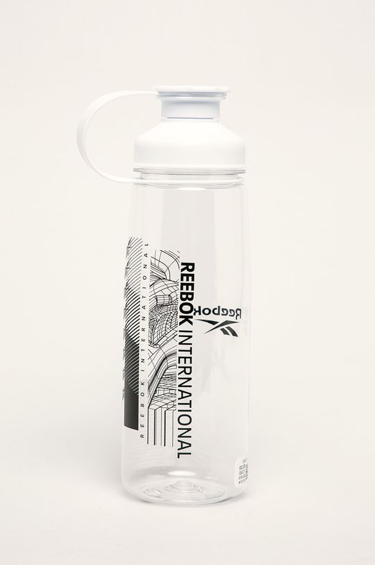 biały Reebok - Bidon 0,75 l Damski