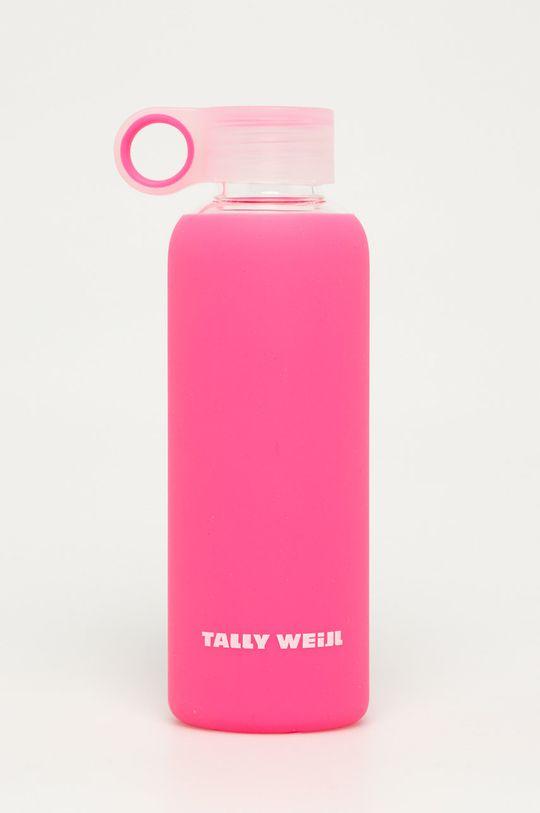 różowy Tally Weijl - Szklana butelka 0,5 L Damski