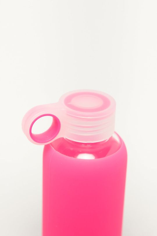 Tally Weijl - Szklana butelka 0,5 L różowy
