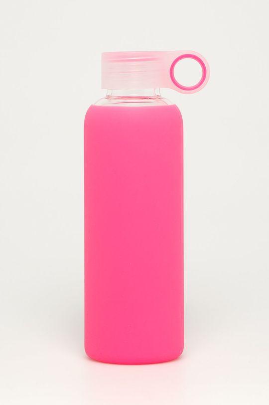 Tally Weijl - Szklana butelka 0,5 L Materiał syntetyczny, Szkło