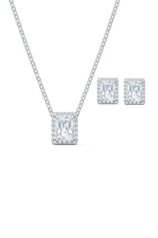 stříbrná Swarovski - Náušnice a náhrdelník ANGELIC Dámský