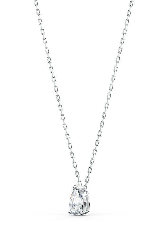 srebrny Swarovski - Naszyjnik i kolczyki ATTRACT
