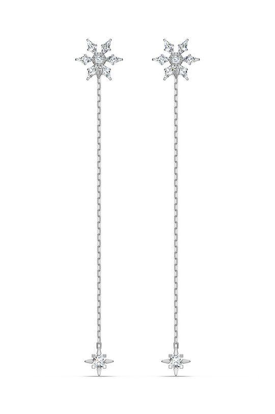 stříbrná Swarovski - Náušnice MAGIC