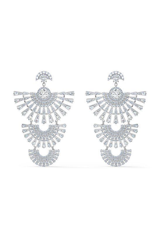srebrny Swarovski - Kolczyki SPARKLING DC
