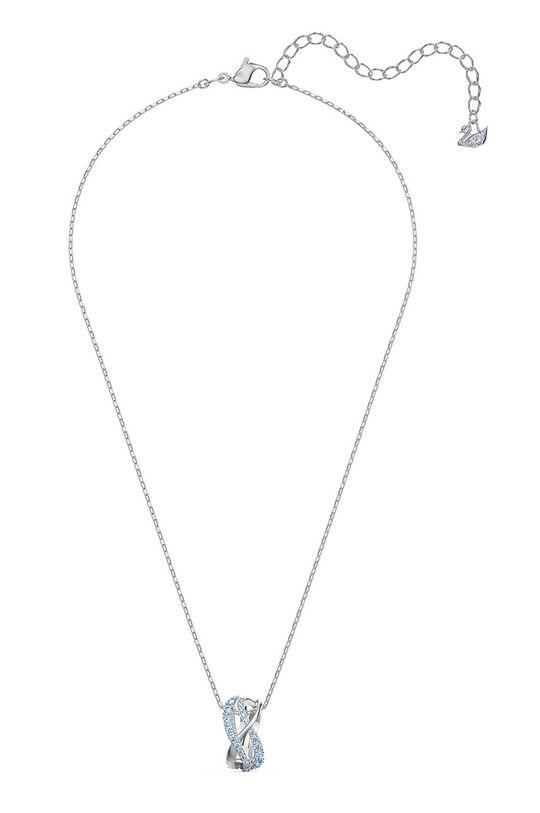 stříbrná Swarovski - Náhrdelník TWIST Dámský