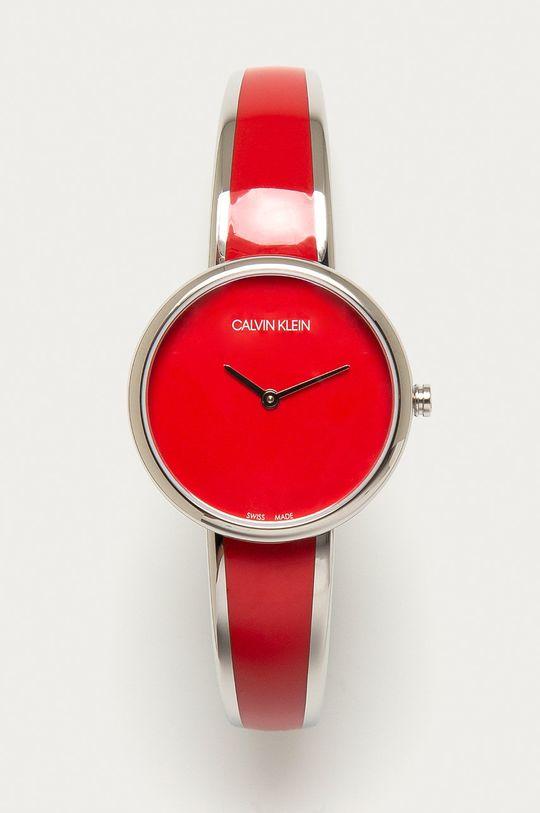červená Calvin Klein - Hodinky K4E2N11P Dámský