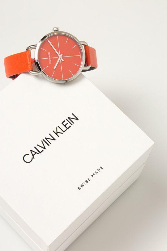 Calvin Klein - Hodinky K7B231YM  Přírodní kůže, Nerezová ocel, Minerální sklo