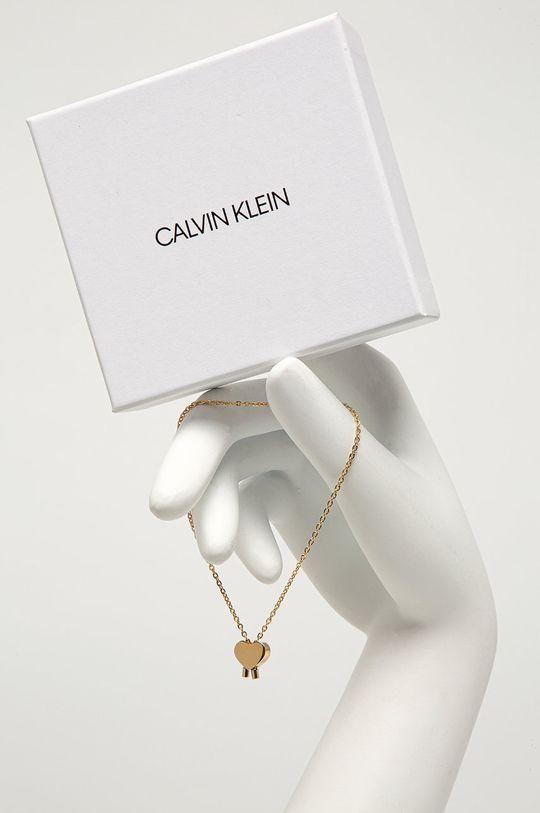 Calvin Klein - Náramek zlatá