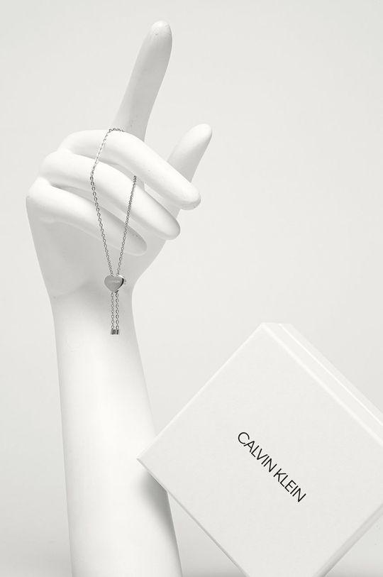 Calvin Klein - Náramek stříbrná