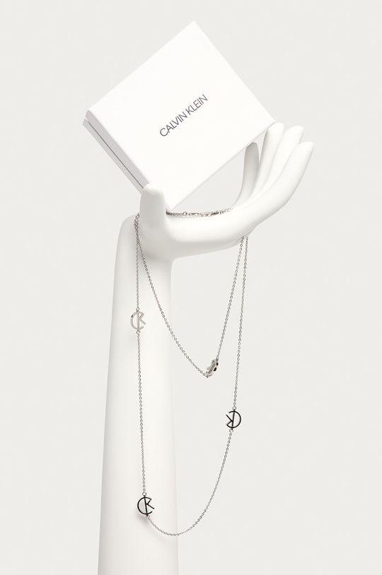 Calvin Klein - Náhrdelník stříbrná