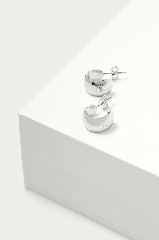 stříbrná Calvin Klein - Náušnice Dámský