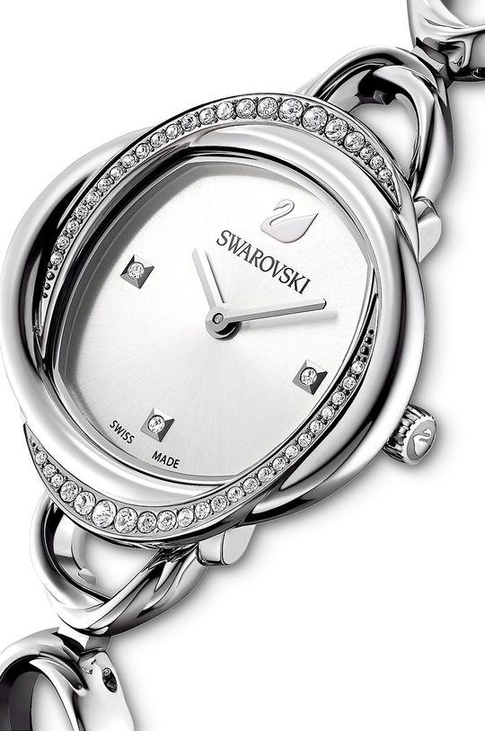 Swarovski - Zegarek CRYSTAL FLOWER Metal, Stal nierdzewna, Kryształ Swarovskiego
