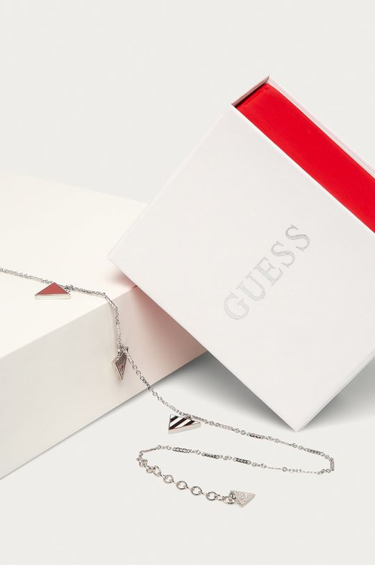 Guess Jeans - Bransoletka UBN29062 srebrny