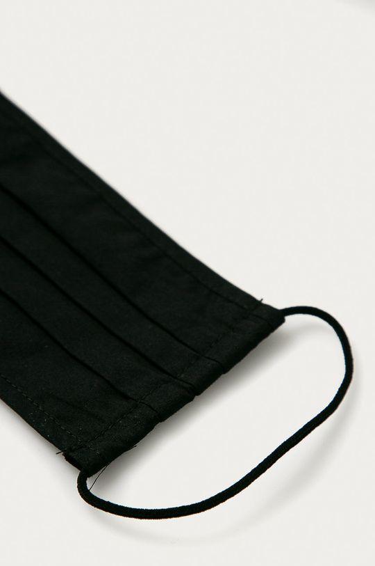 czarny Pieces - Maseczka ochronna (2-pack)