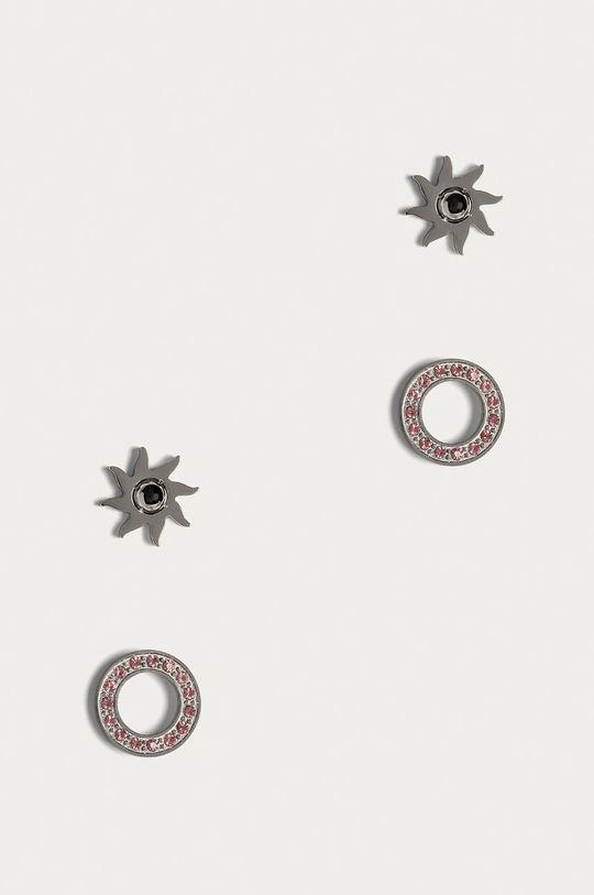 růžová Guess Jeans - Náušnice (2-pack) Dámský