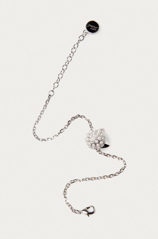 Karl Lagerfeld - Náramek stříbrná