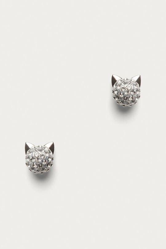 stříbrná Karl Lagerfeld - Náušnice Dámský