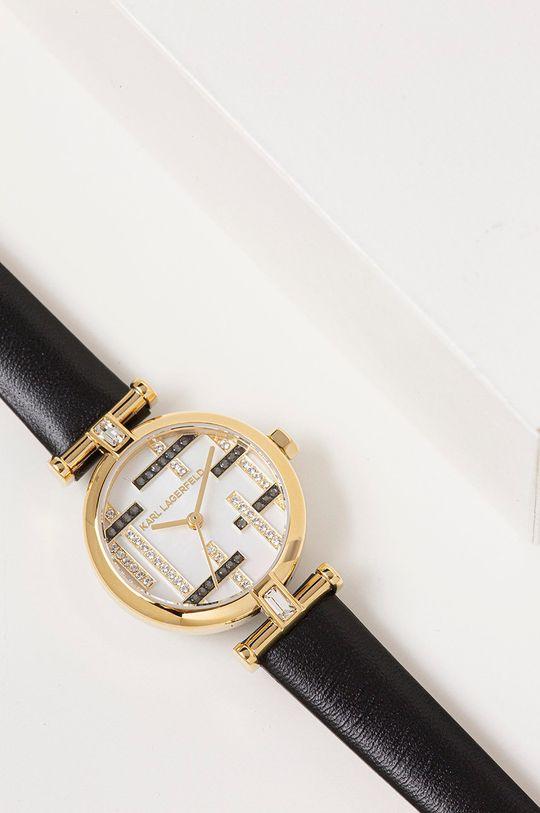 zlatá Karl Lagerfeld - Hodinky
