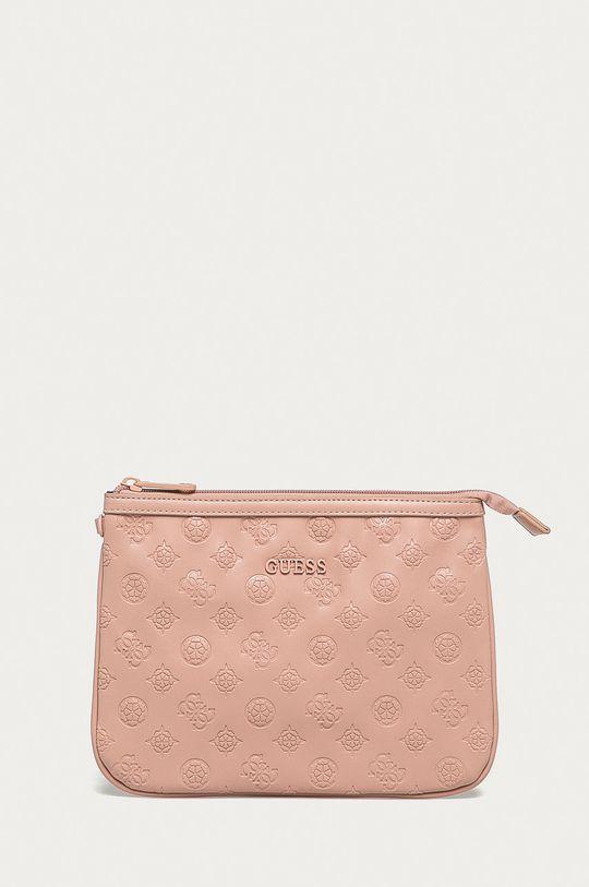 pastelowy różowy Guess - Kosmetyczka Damski