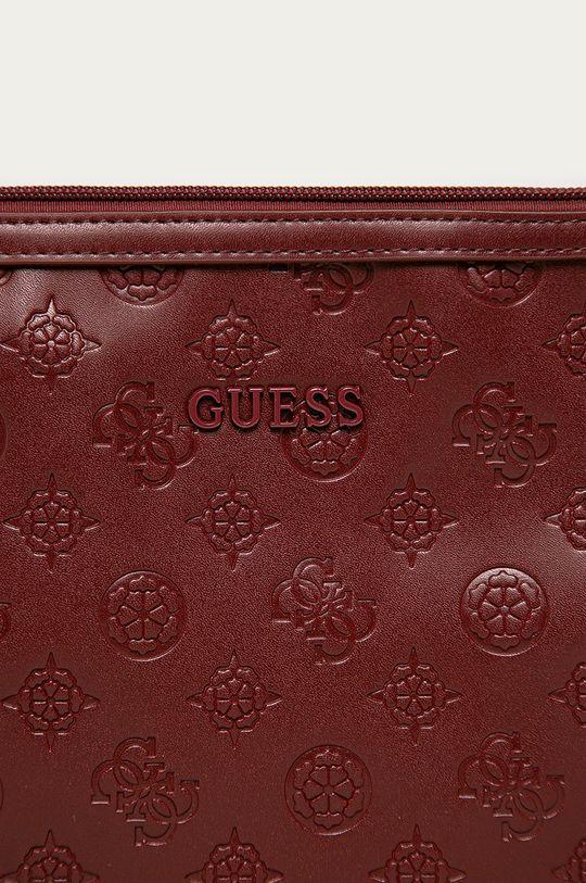 Guess - Kosmetyczka kasztanowy