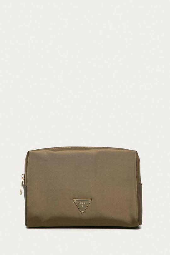 zelená Guess - Kosmetická taška Dámský