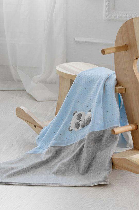 Mayoral Newborn - Patura pentru copii albastru deschis
