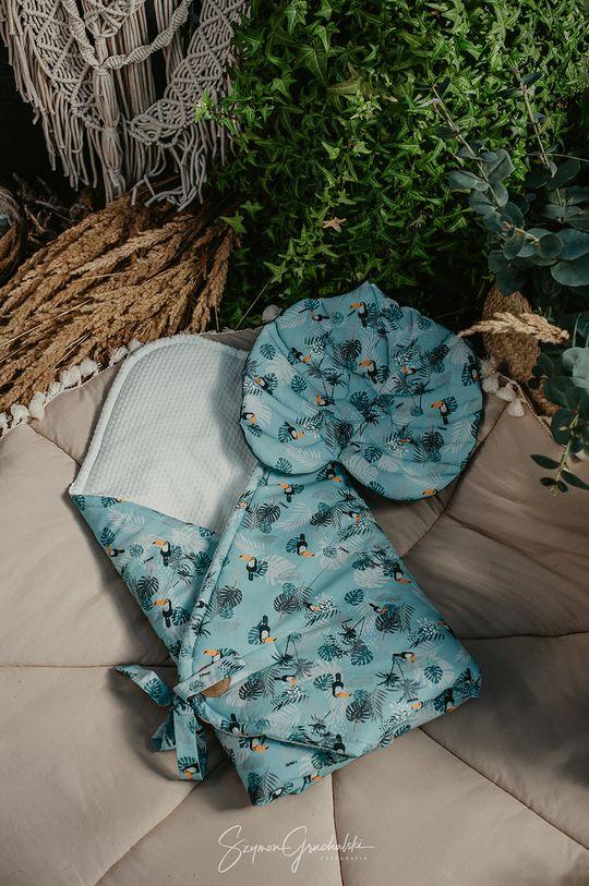 Jamiks - Rożek niemowlęcy blady turkusowy