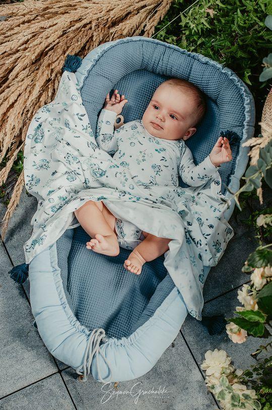 Jamiks - Kojenecká deka námořnická modř