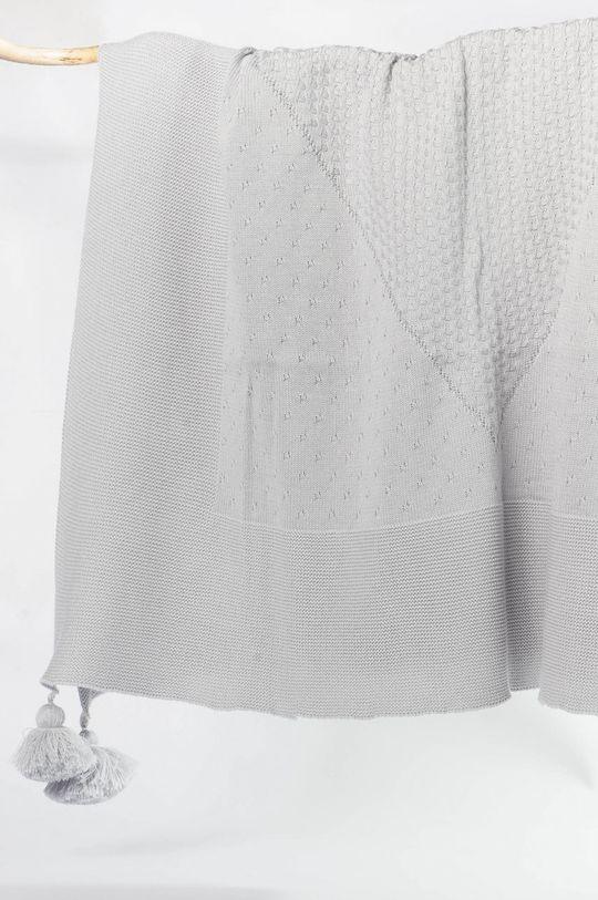šedá Jamiks - Kojenecká deka